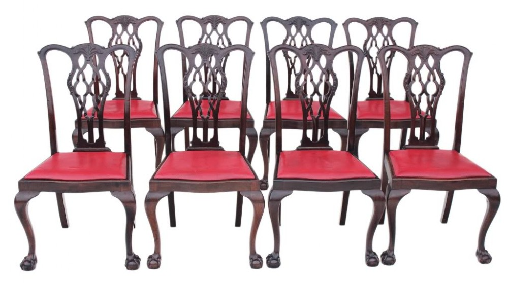 Antique Chippendale Dining Chairs Antique Dining Chairs