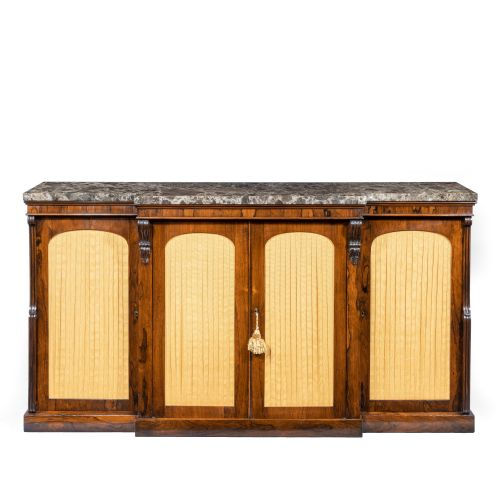 Wick Antiques Ltd - Antique Breakfront Cabinets - The UK's Largest Antiques Website