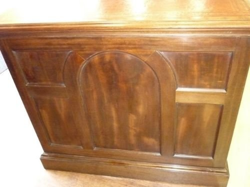 antique victorian partners desk - photo angle #2