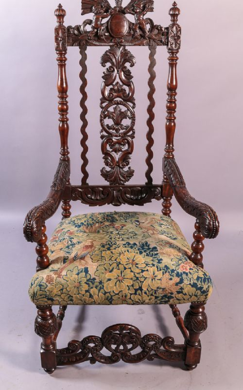 - Antique Throne Chairs - The UK's Largest Antiques Website