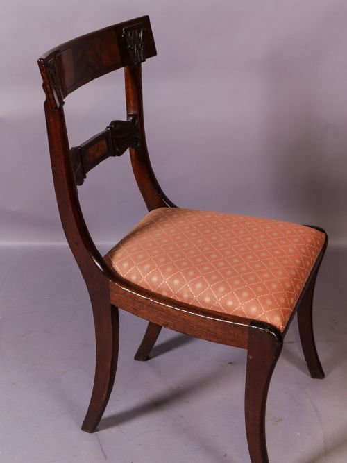 d24f0f9f03 A Good Set Of 8 Regency Bar Back Dining Chairs | 595693 ...
