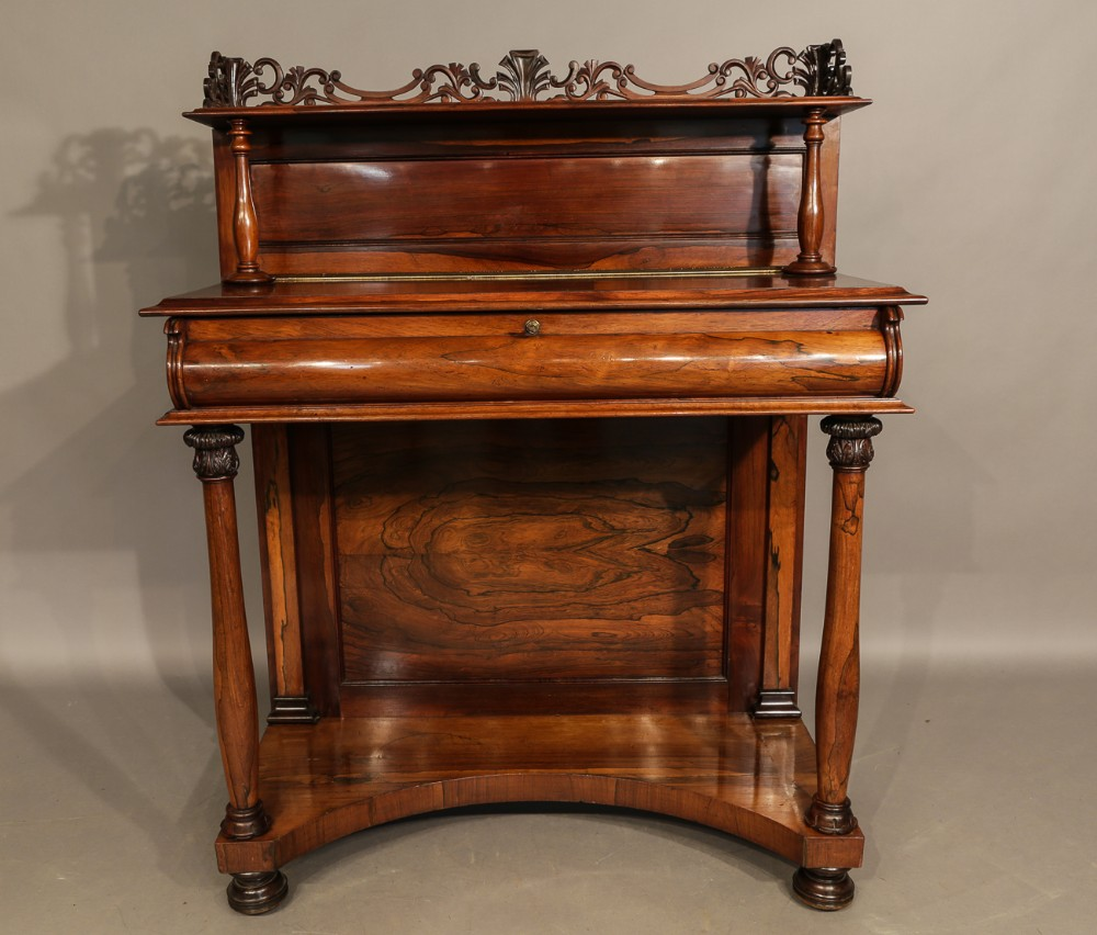 super william iv chiffonier in rosewood