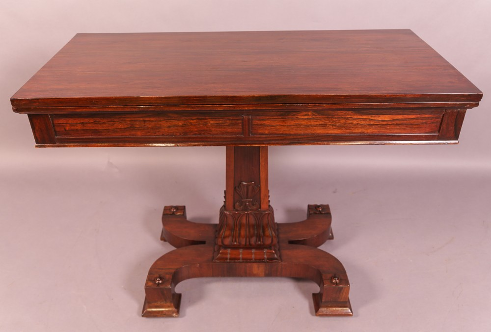 an unusual william iv breakfast table in rosewood