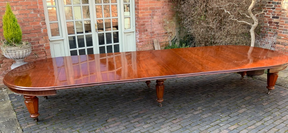 victorian 17 foot extending dining table seat 2022