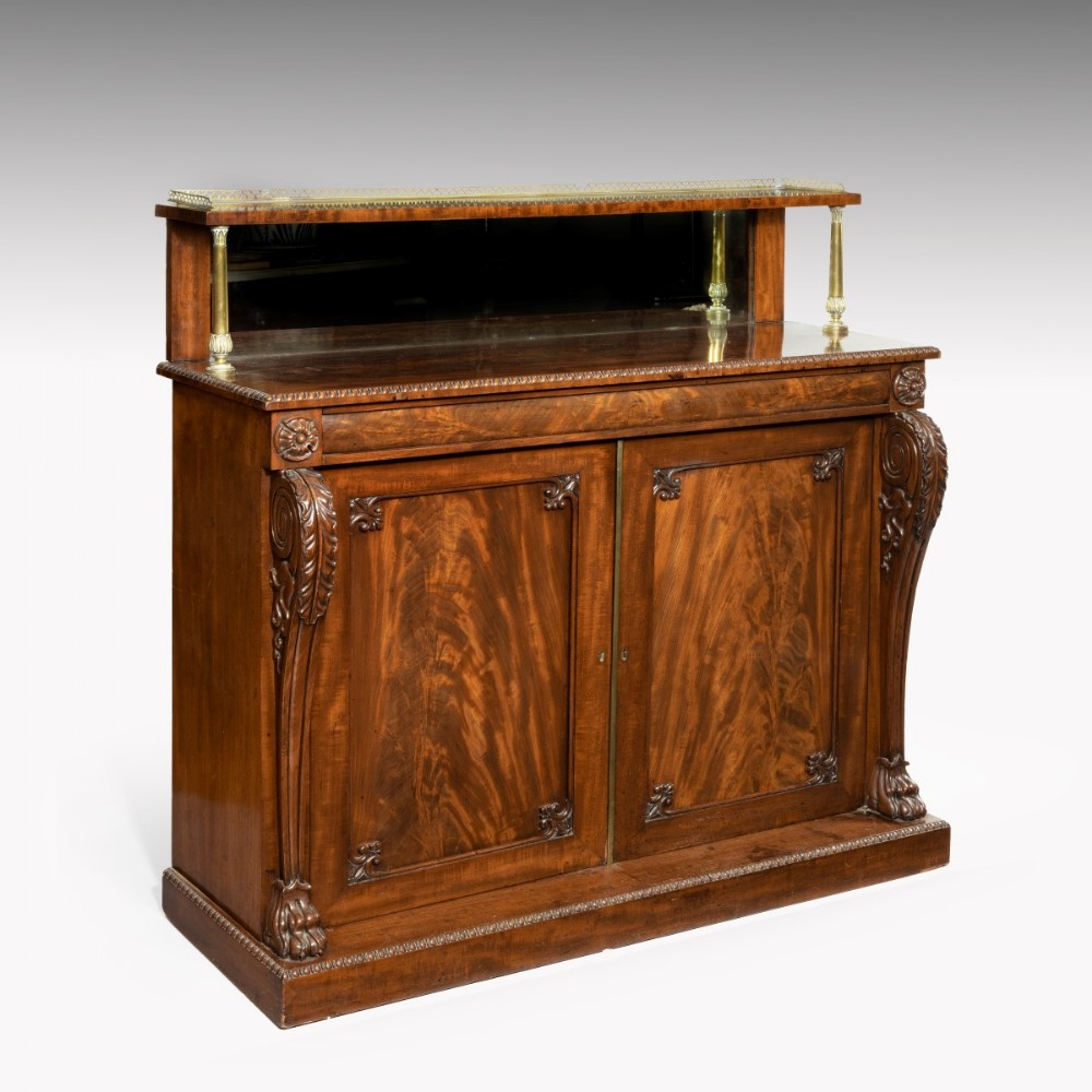 a regency period chiffonier cabinet attributed to gillow