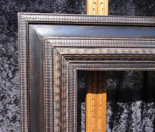 19th C Dutch Picture Frame Mirror 18 Quot X 24 Quot 225956