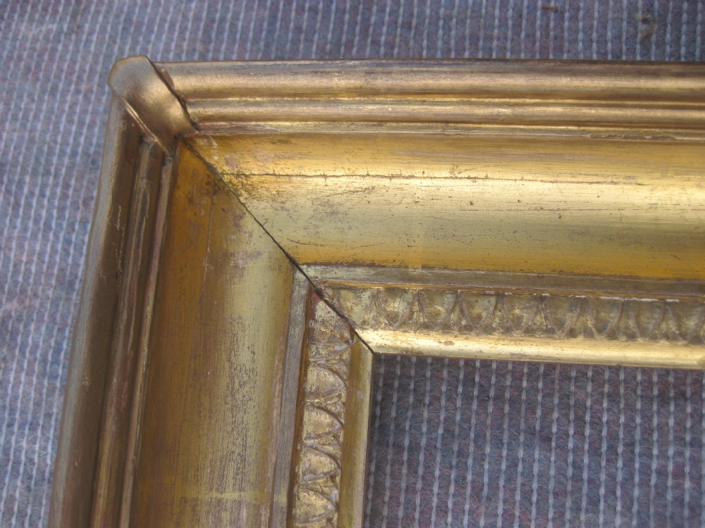 Antique 18th C. Georgian Wood & Gesso Gilt Gold Leaf Carlo Picture ...