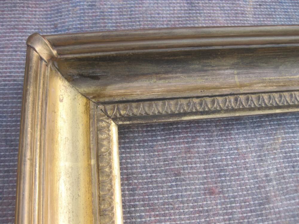 Antique 18th C. Georgian Wood & Gesso Gilt Gold Leaf Carlo Picture ...