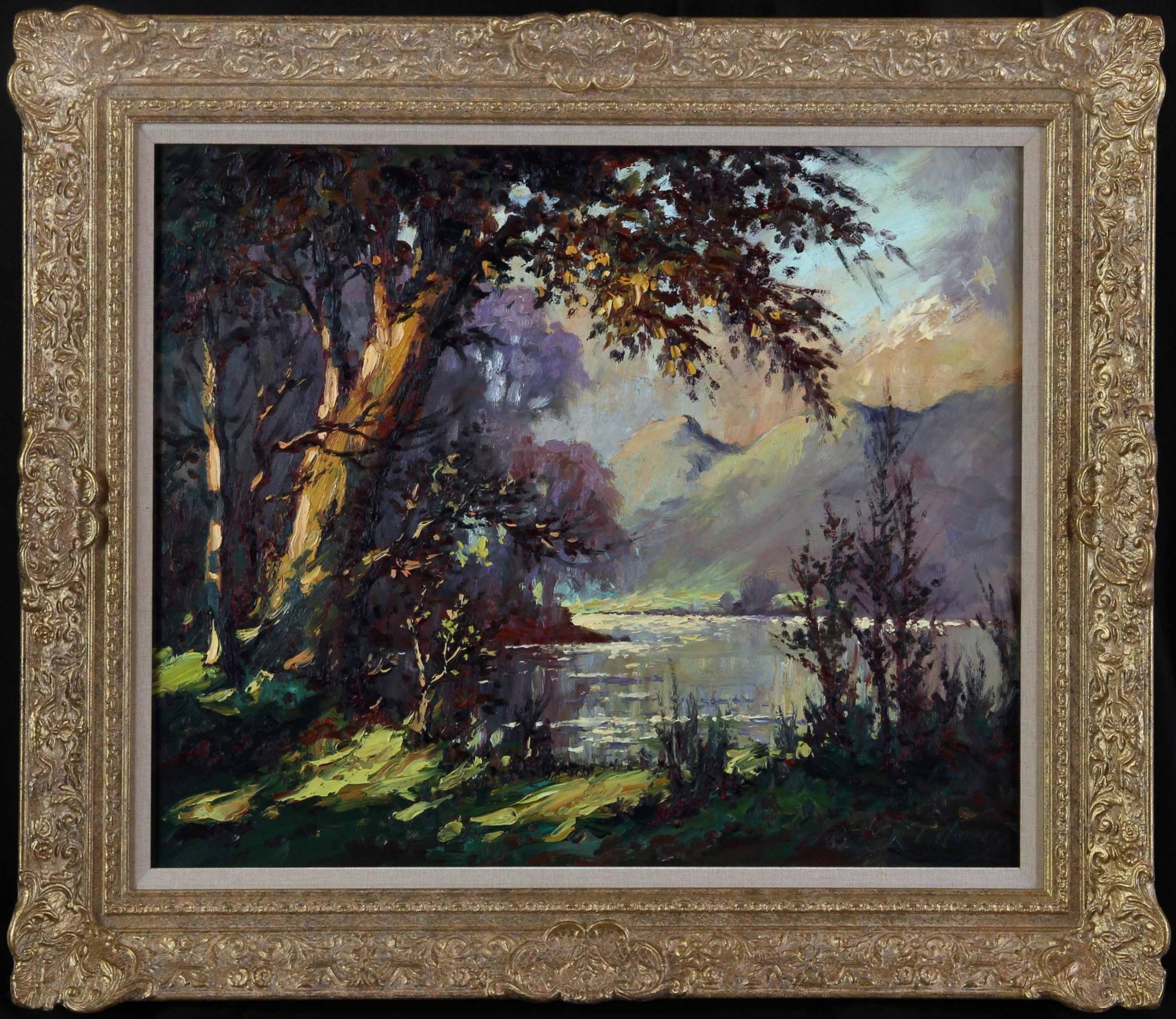 ullswater robert leslie howey oil landscape