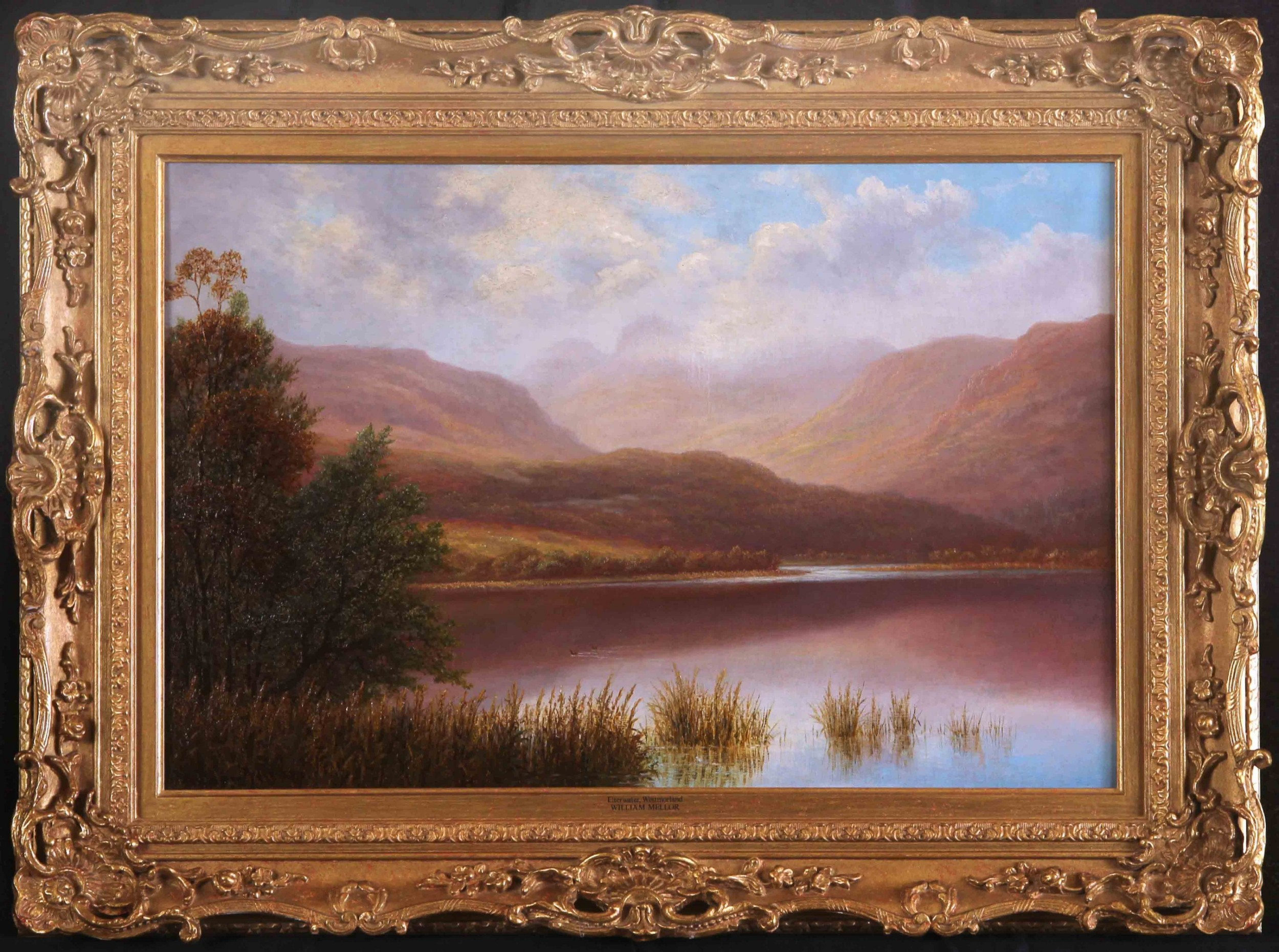 william mellor elterwater westmorland landscape oil painting