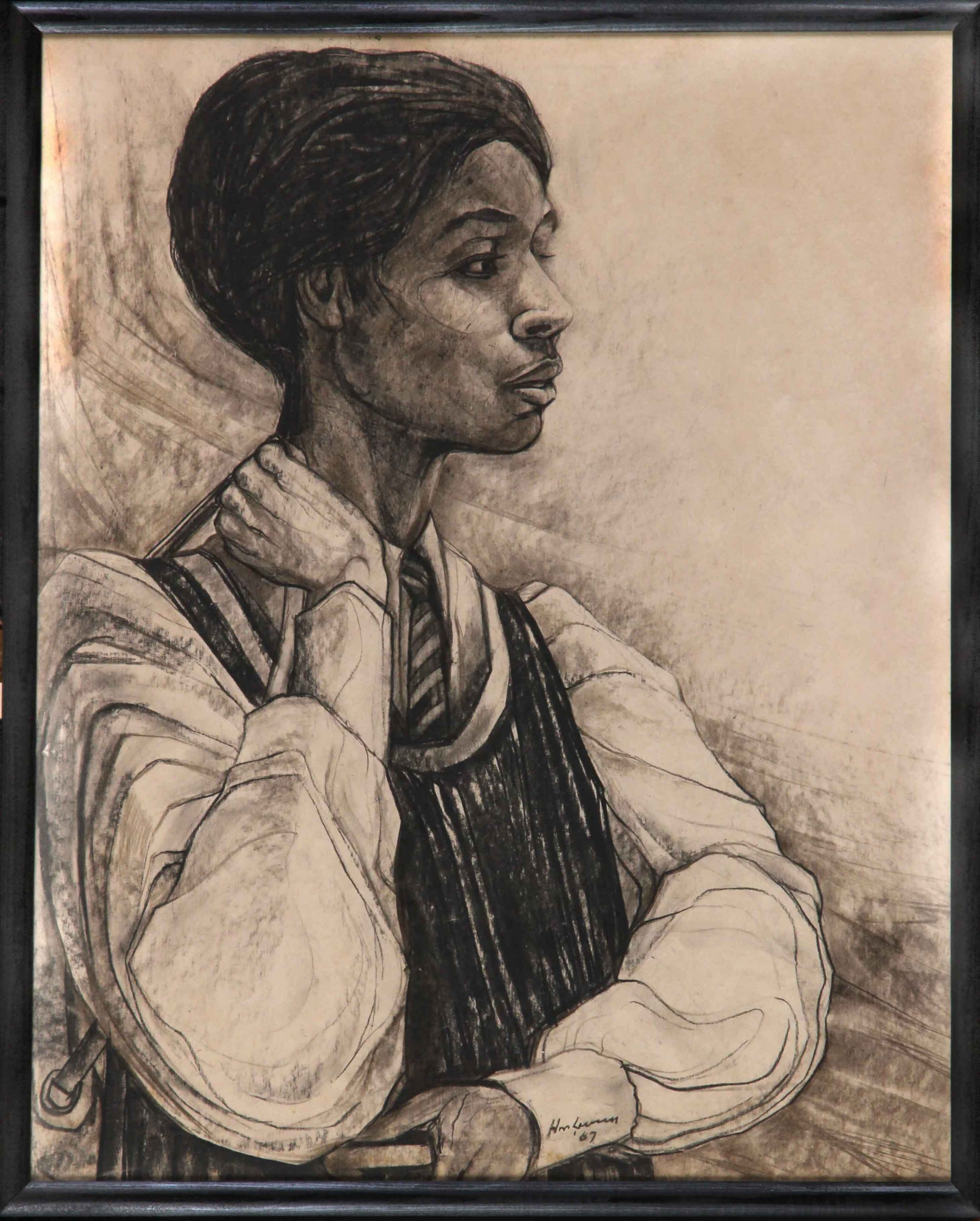 african school portrait of a girl