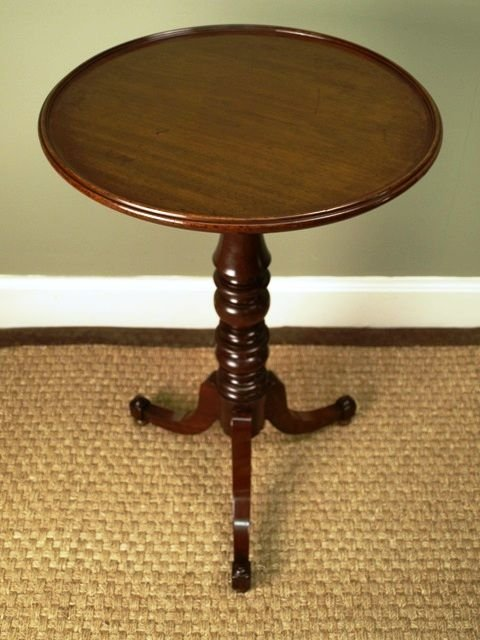a gillows small mahogany dish top table