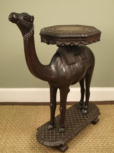 Anglo Indian Side Table In The Form Of A Camel