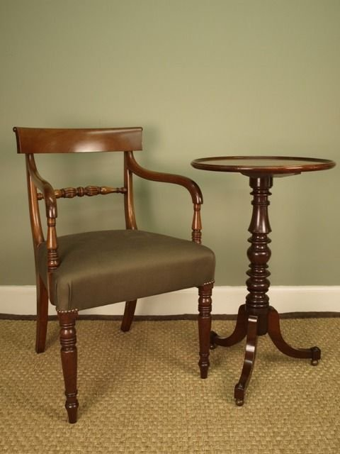 a gillows small mahogany dish top table - photo angle #3