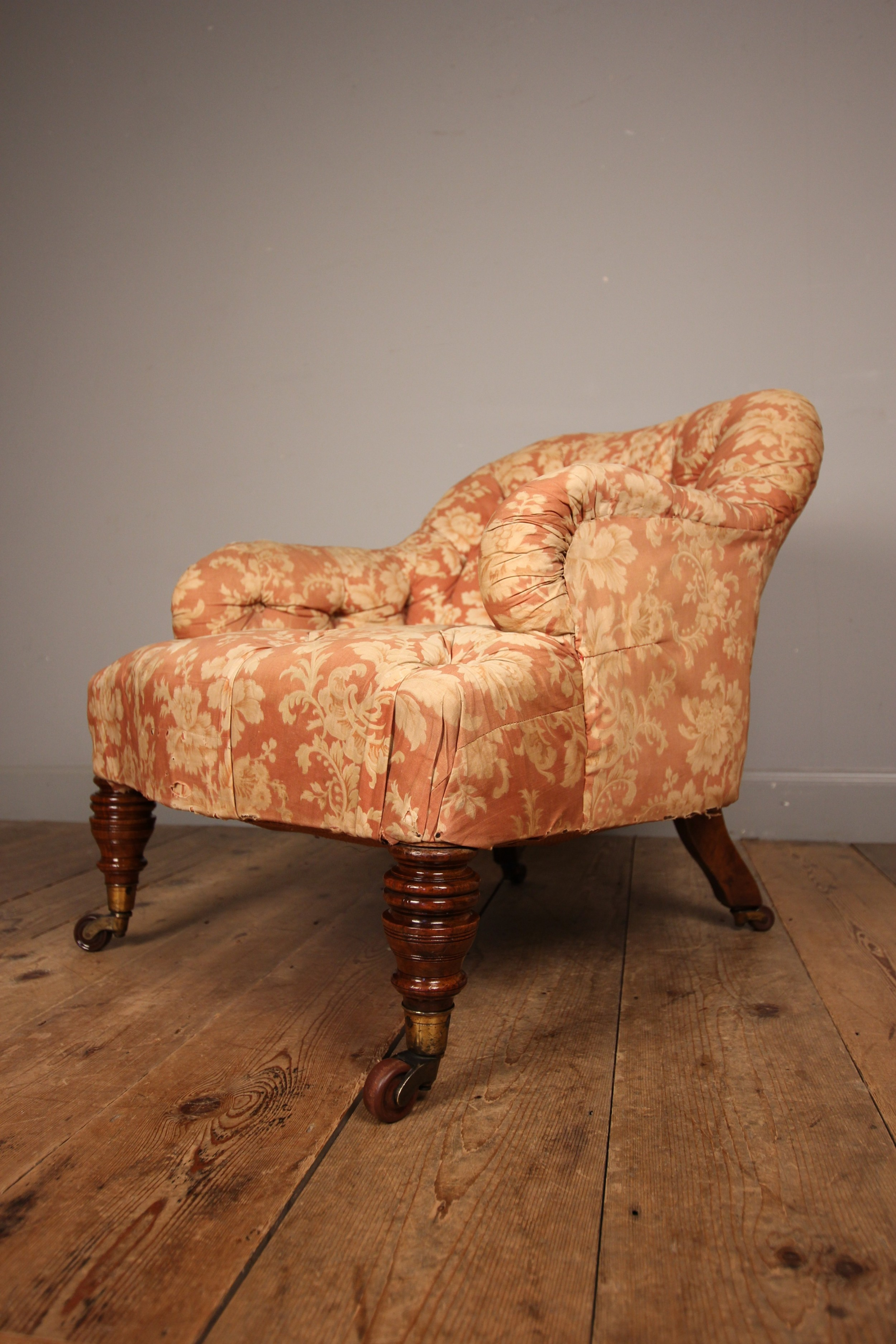 lovely quality small bedroom chair in howard sons style