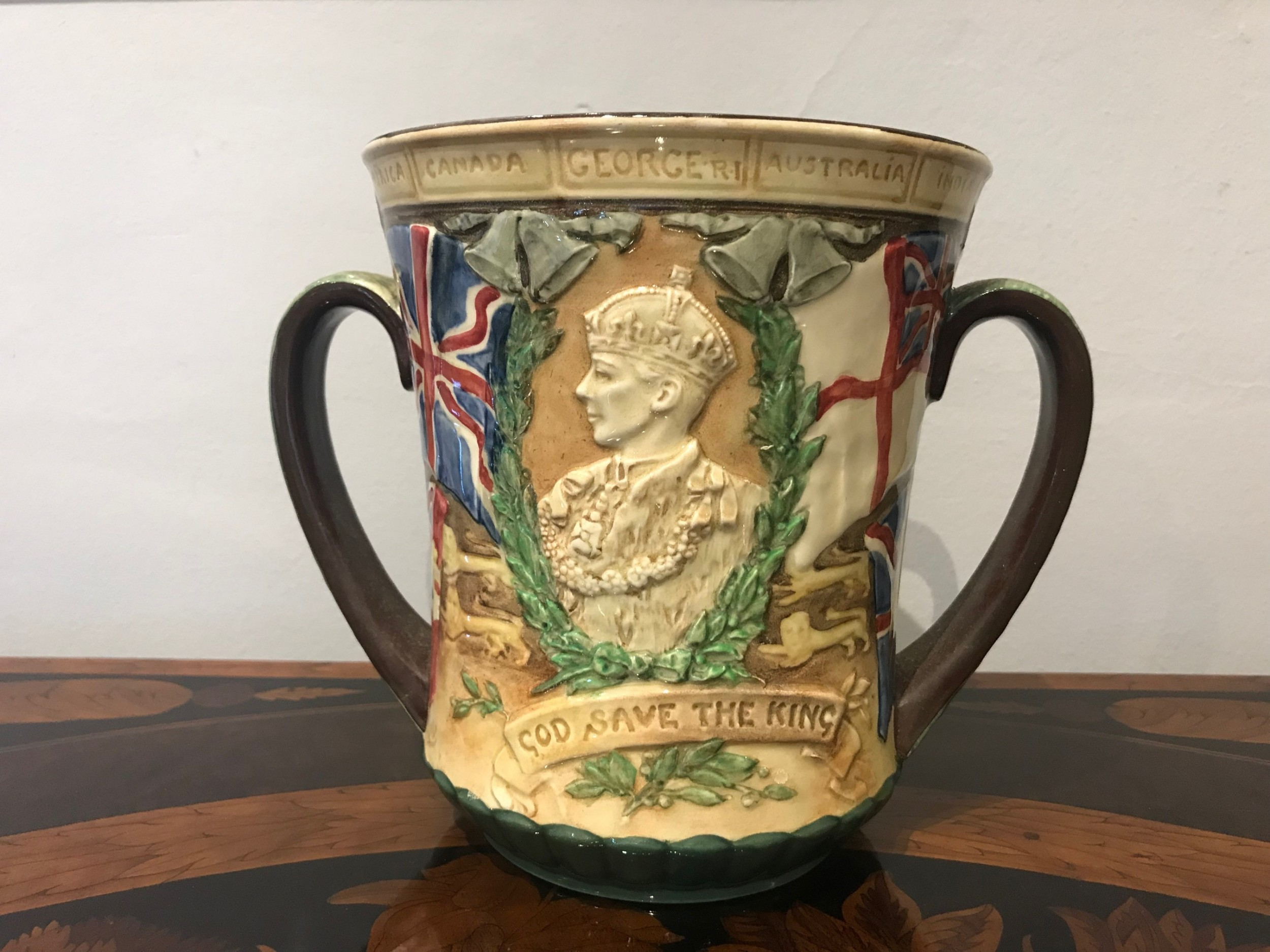 royal doulton limited edition loving cup 1937