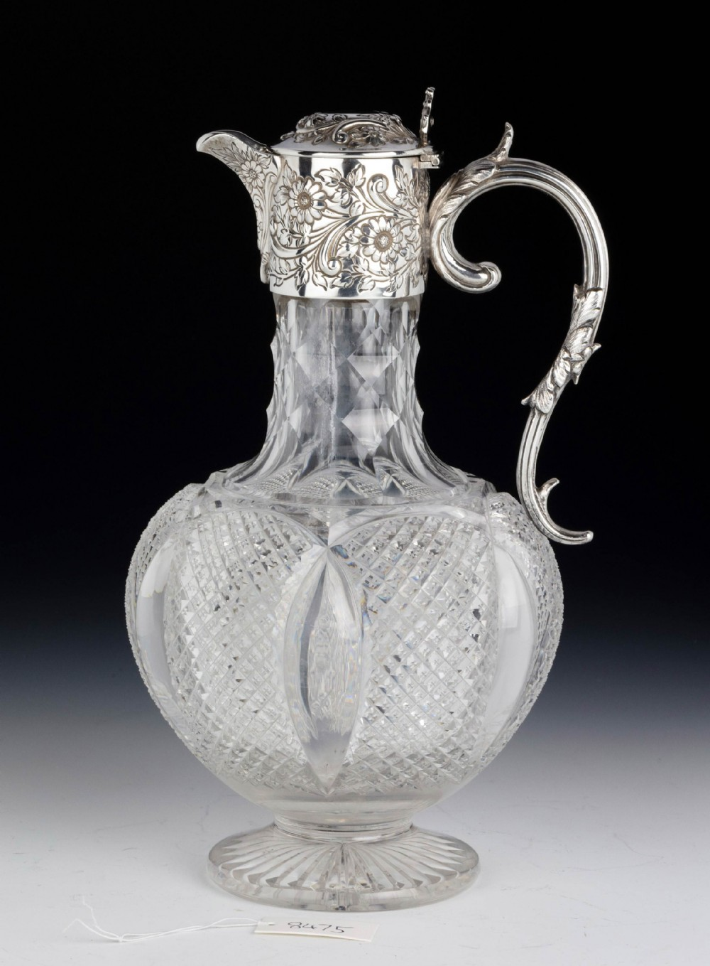a beautifully presented late 19th century claret jug