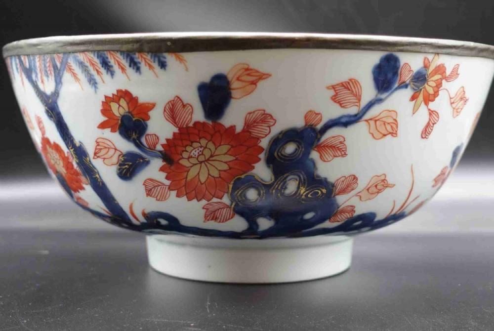 a good late 19th century imari bowl
