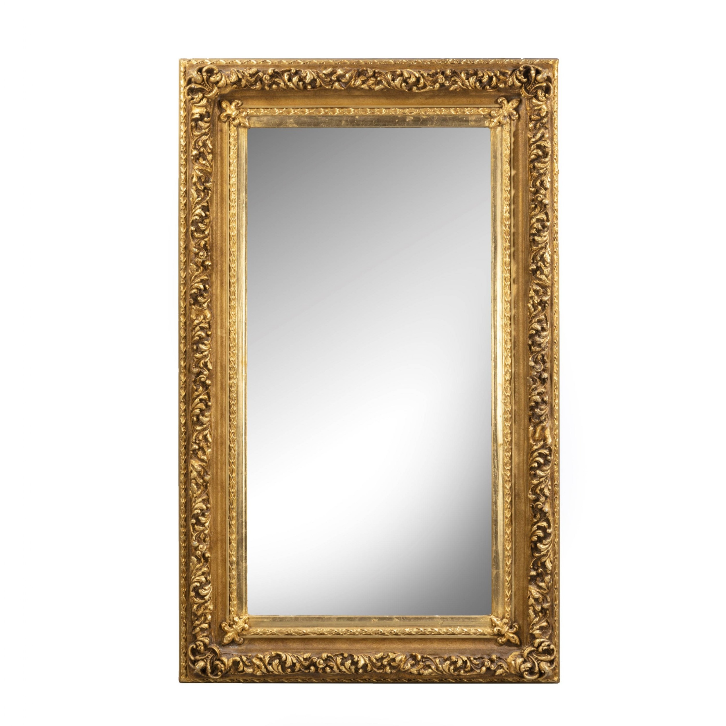 a good large early 20th century rectangular mirror