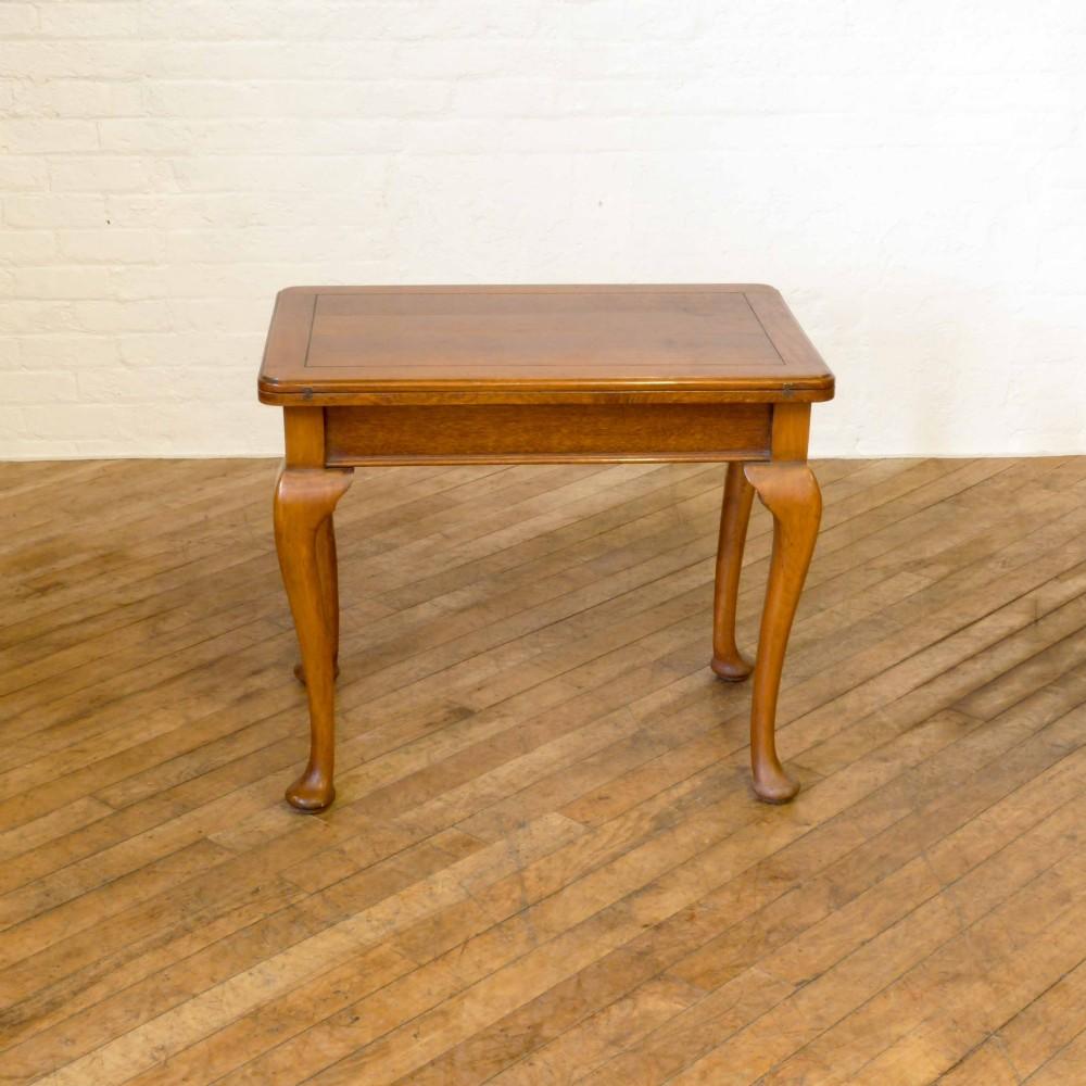 oak fold over table 349092 sellingantiques co uk