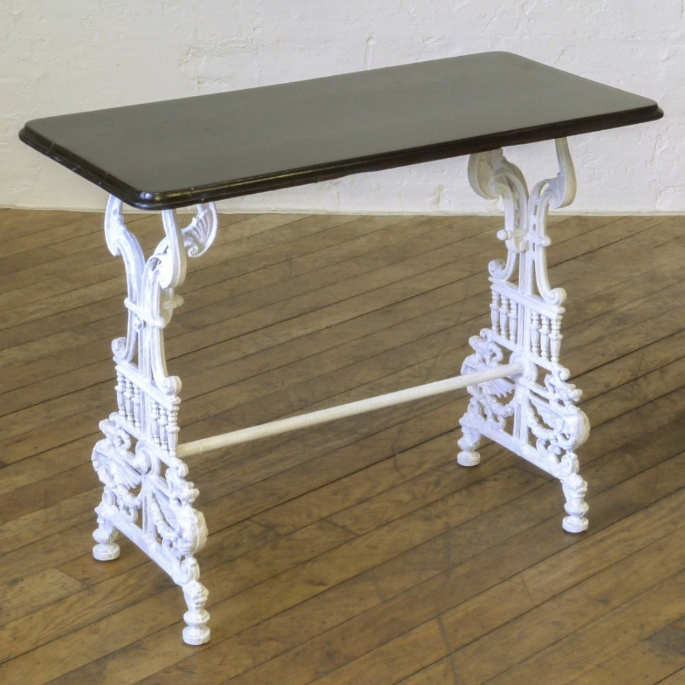 victorian cast iron conservatory table