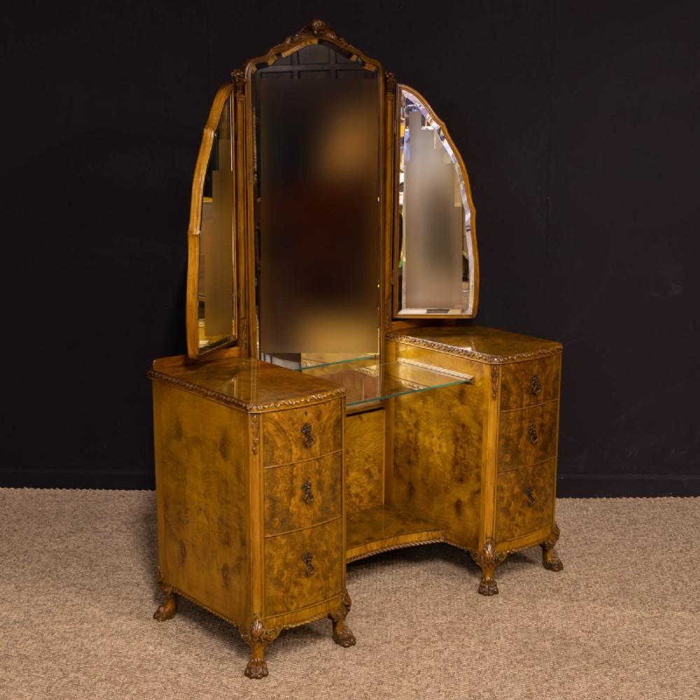 walnut dressing mirror by berick