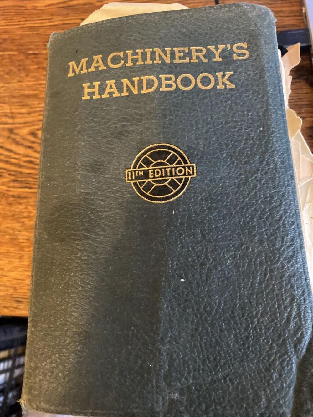1943 machinery's handbook