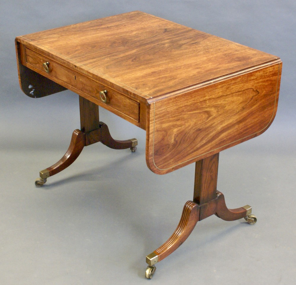 Phenomenal A Fine Regency Rosewood Sofa Table Of Small Proportions Alphanode Cool Chair Designs And Ideas Alphanodeonline