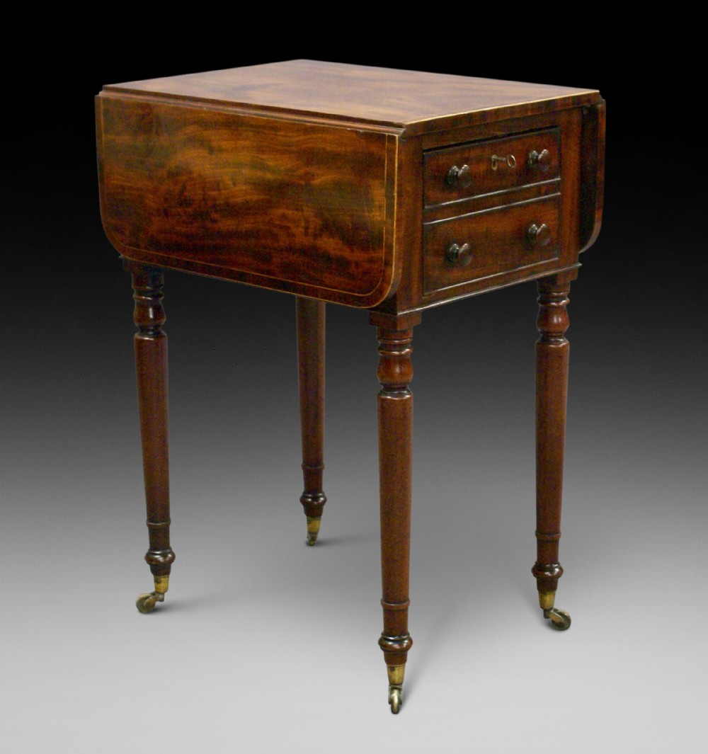 a george iii mahogany pembroke table