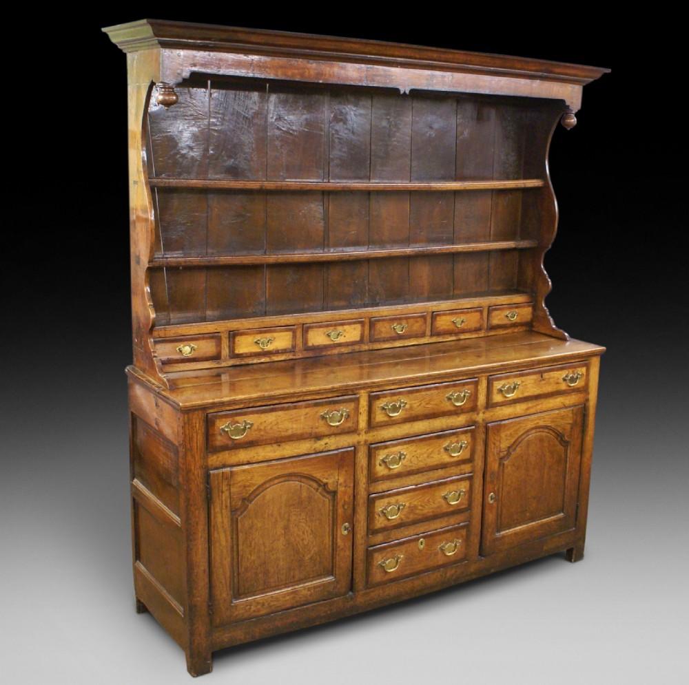 18th century oak welsh dresser