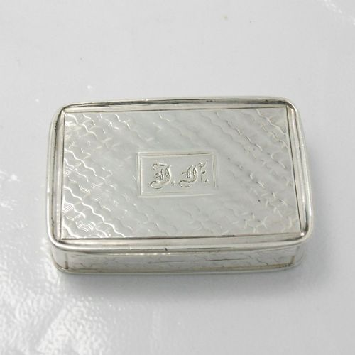 early victorian silver vinaigrette unusually decorated grill