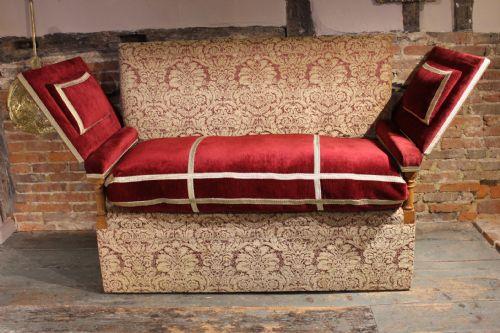 Woodcock Antiques | + Antique Knole Sofas