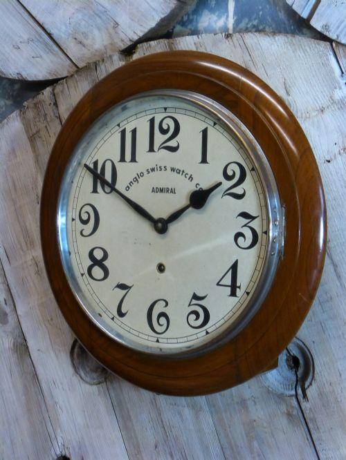 Anglo swiss railway school wall clock 441918 - Swiss railway wall clock ...