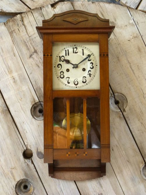Arts & Crafts Wall Clock | 494552 | Sellingantiques.co.uk