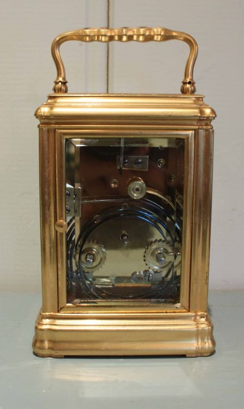 striking gorge case carriage clock - photo angle #5