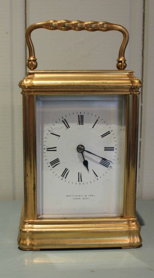 striking gorge case carriage clock