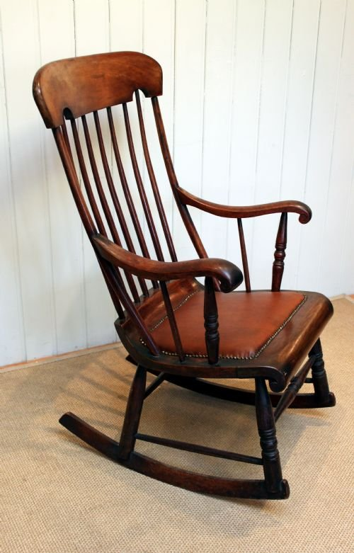 Pleasing Victorian Fruitwood Rocking Chair 158278 Sellingantiques Beatyapartments Chair Design Images Beatyapartmentscom