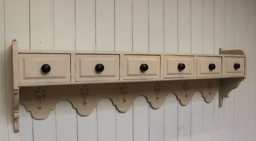 french painted wall shelves - photo angle #2