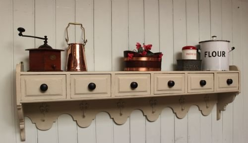 french painted wall shelves - photo angle #3