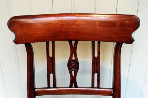substantial fruitwood rocking chair - photo angle #3