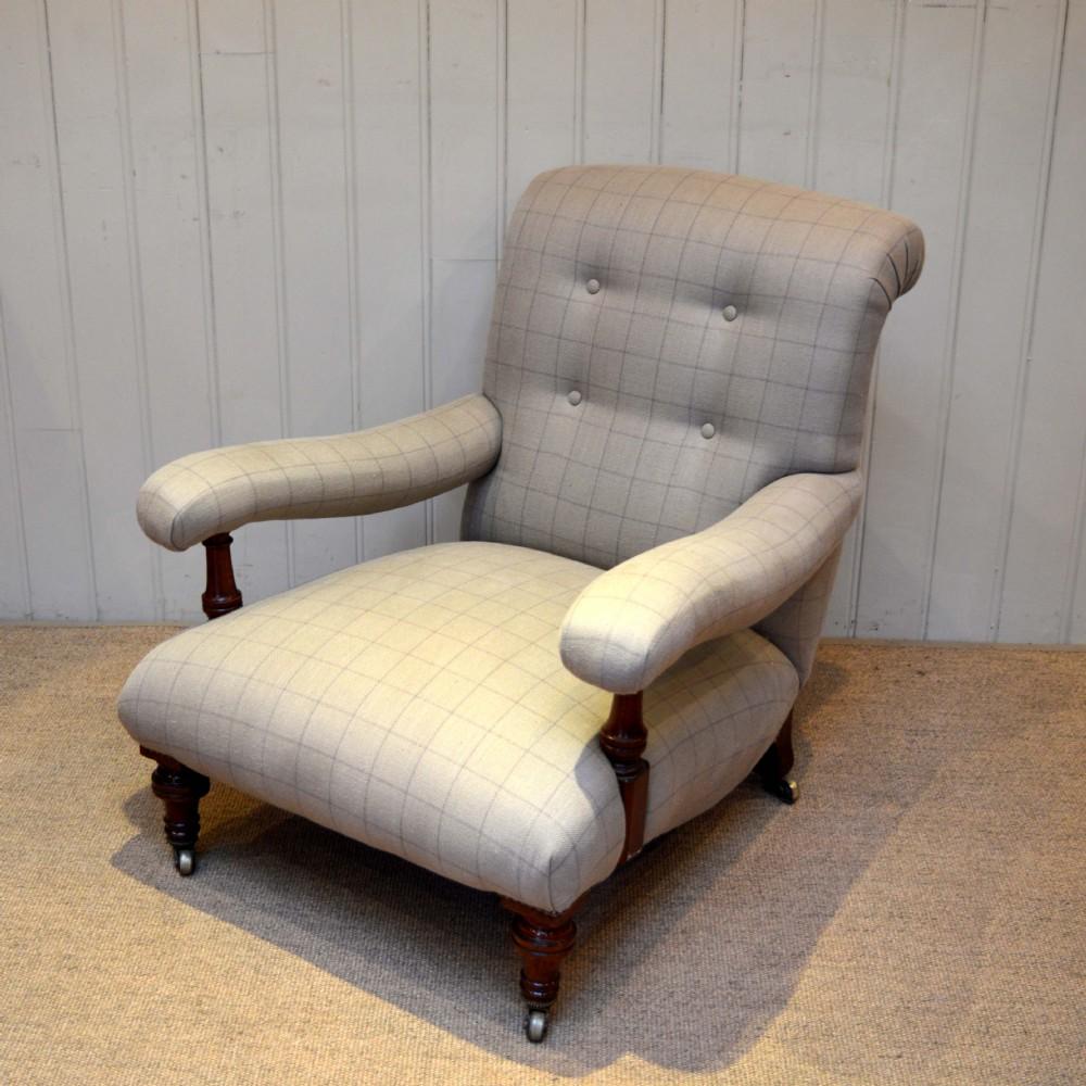 Victorian Low Armchair 369383 Sellingantiques Co Uk