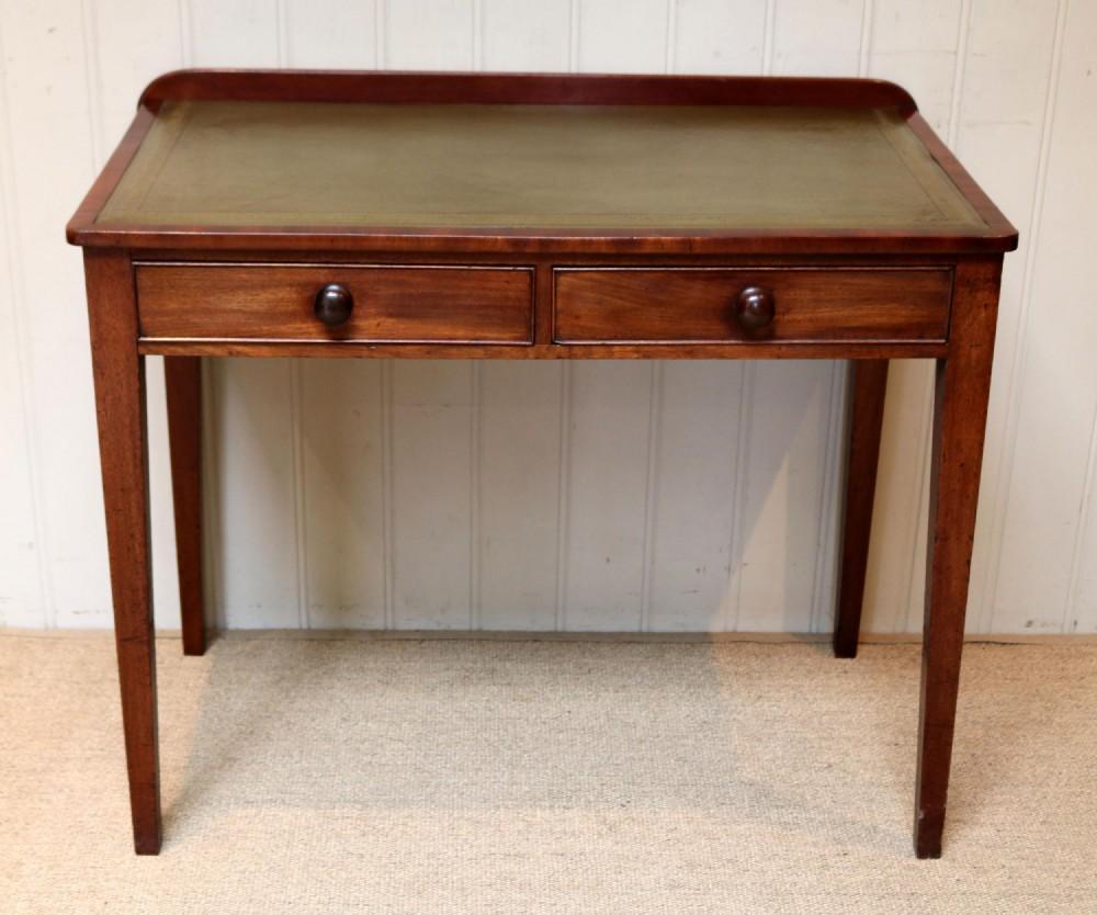 late 19th century mahogany writing desk