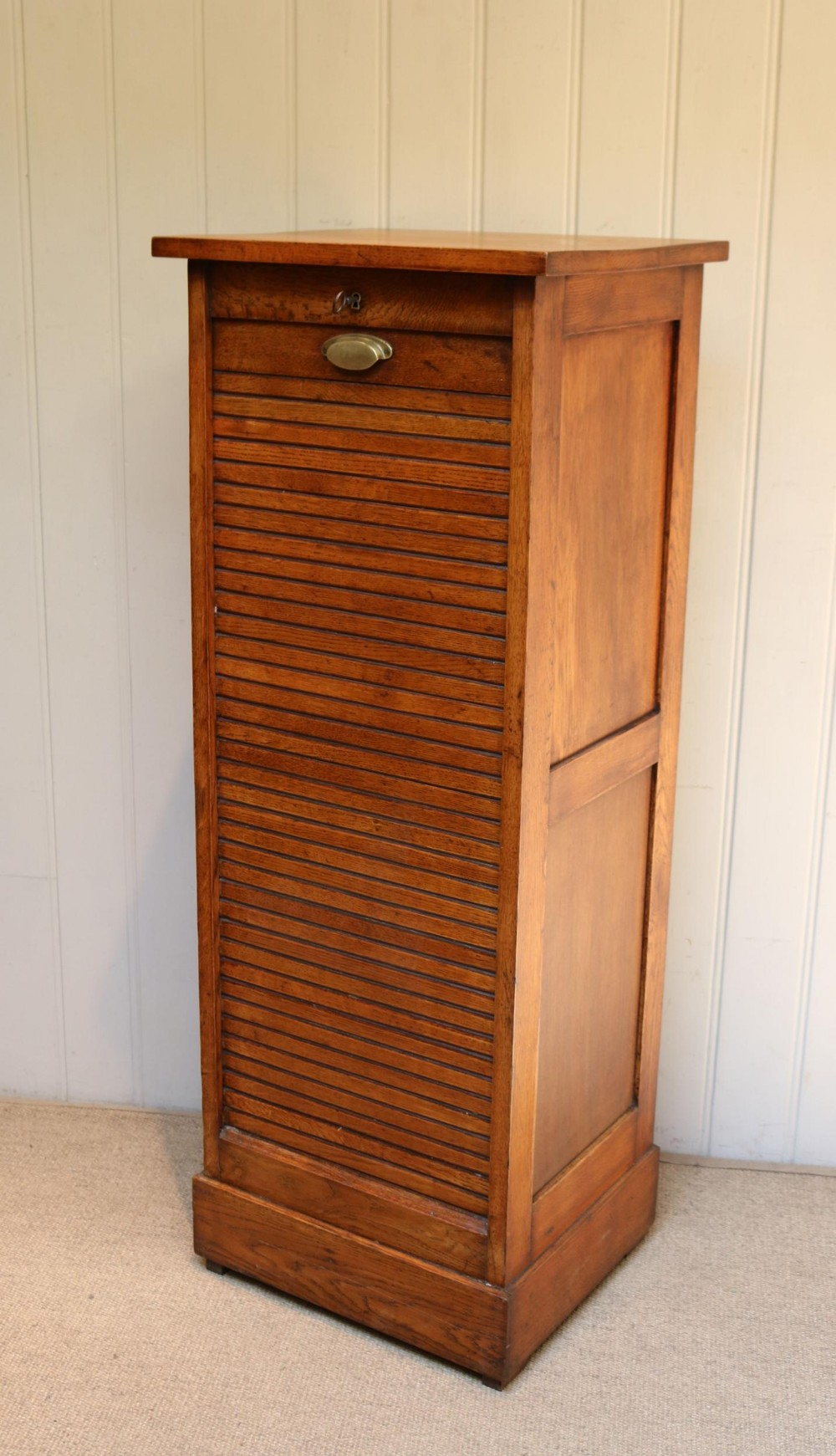 french oak filing cabinet