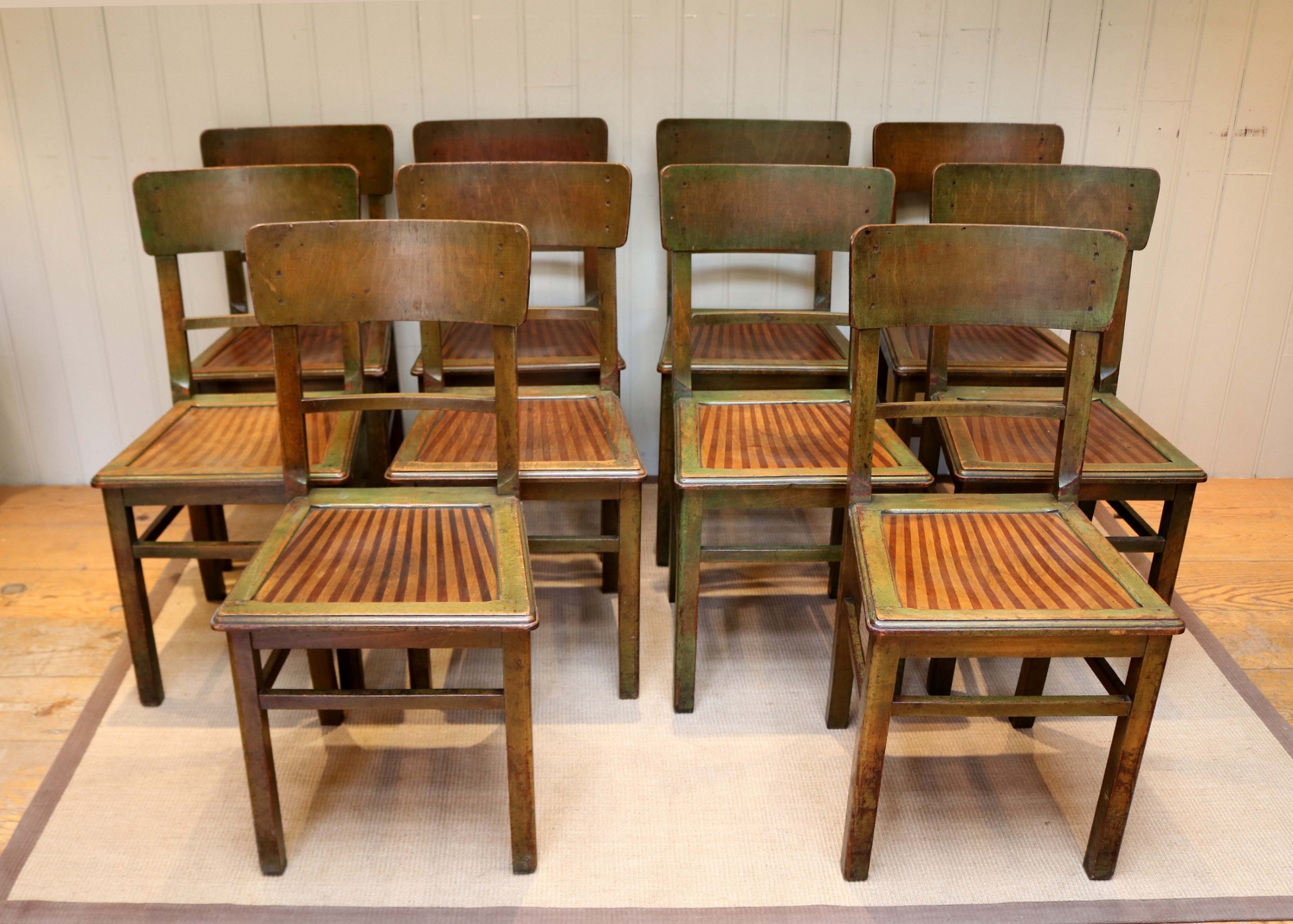 Astonishing Set Of Ten French Bistro Chairs 559848 Sellingantiques Co Uk Download Free Architecture Designs Intelgarnamadebymaigaardcom