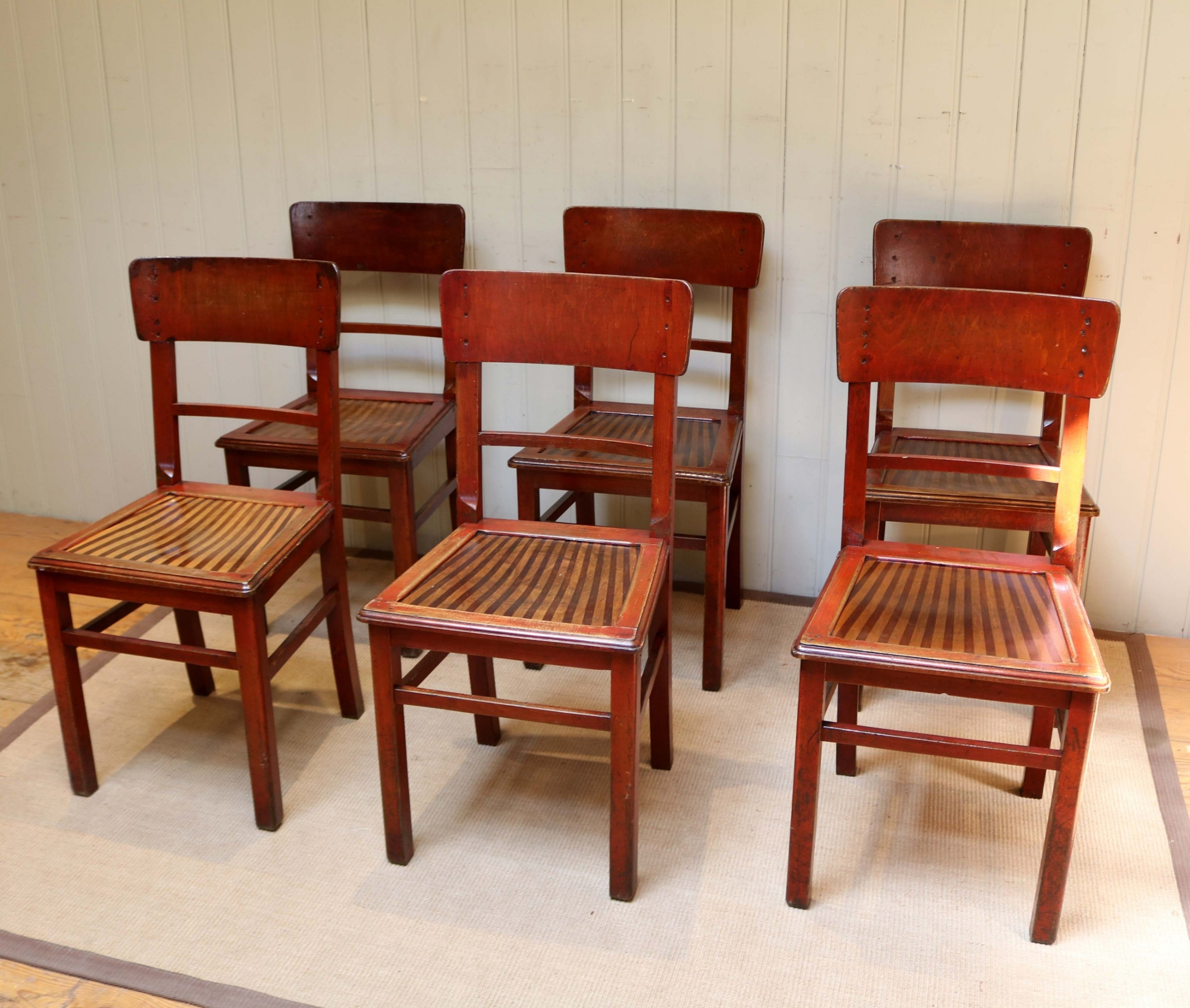 Tremendous Set Of Six French Bistro Chairs 561431 Sellingantiques Co Uk Home Interior And Landscaping Ponolsignezvosmurscom
