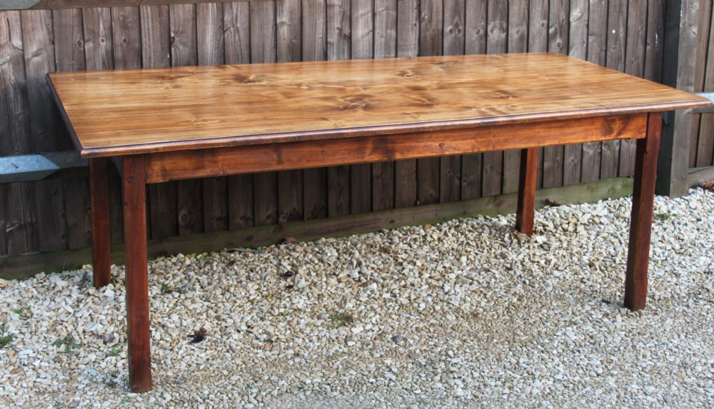 large french poplar farmhouse table