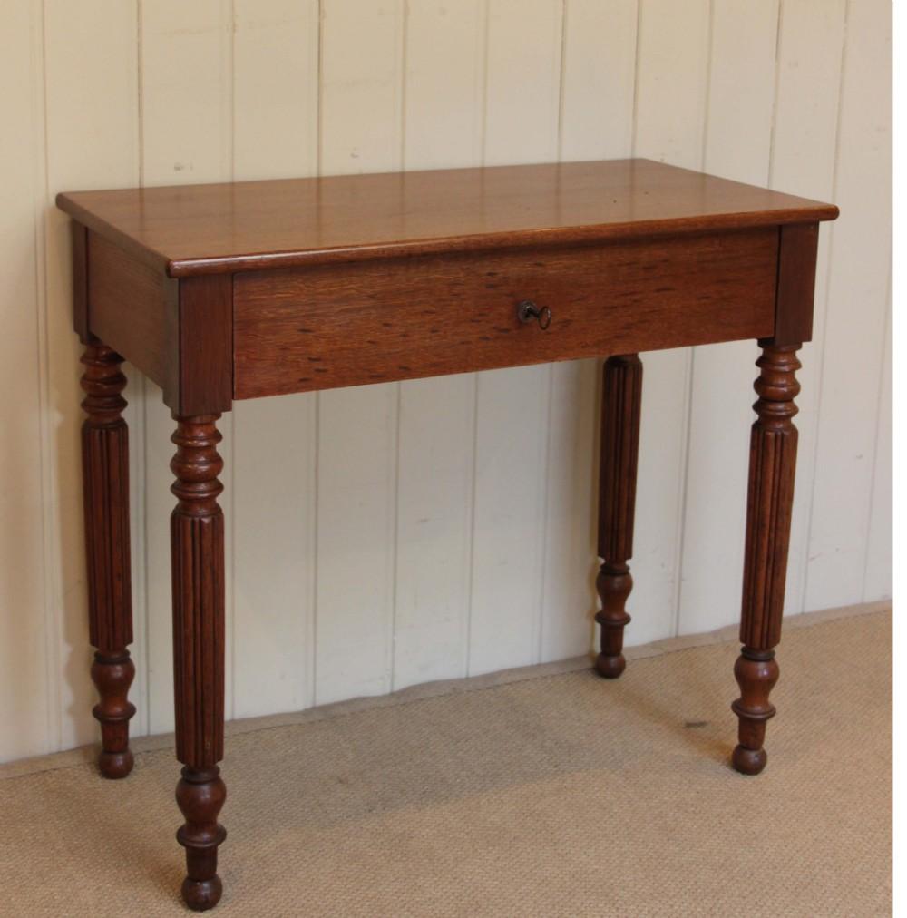 Foyer Table Oak : Light oak hall table sellingantiques