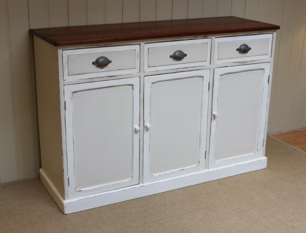 Painted pine sideboard 240489 for Painted buffet sideboard
