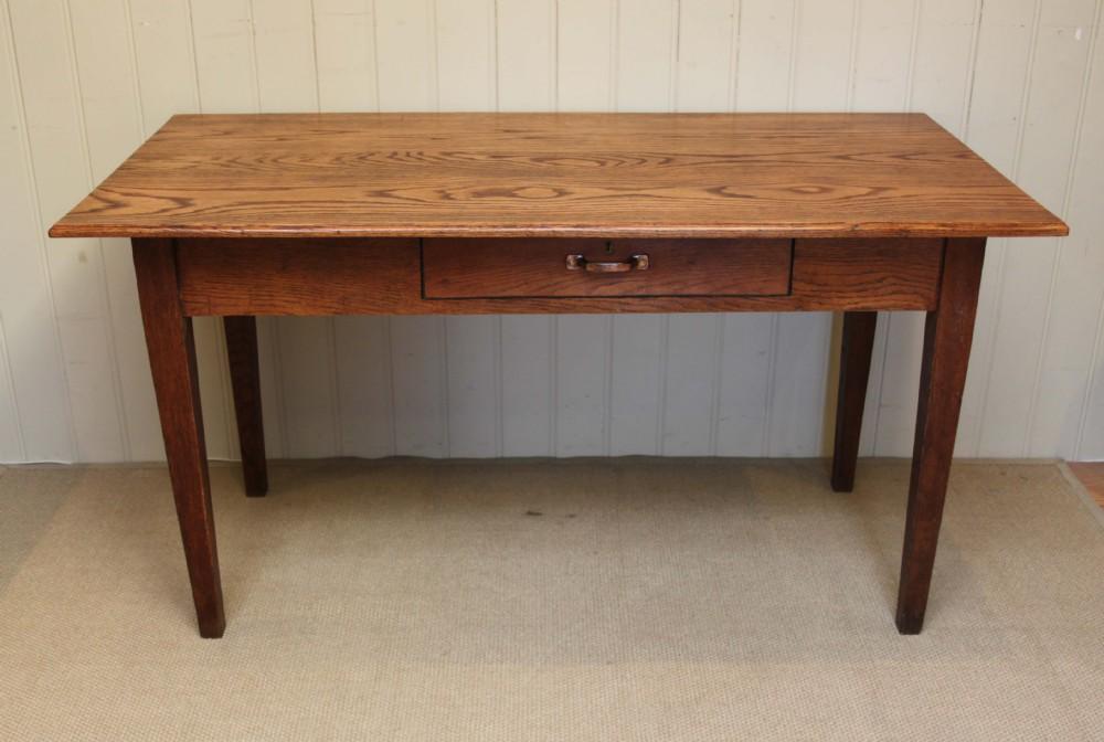 solid oak farmhouse kitchen table 271853