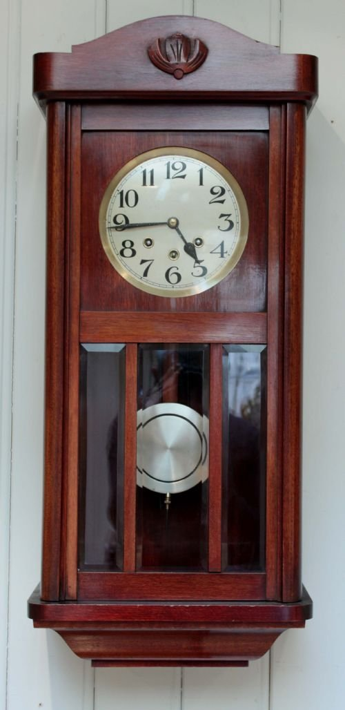 Westminster Chime Wall Clock 153481 Sellingantiques Co Uk